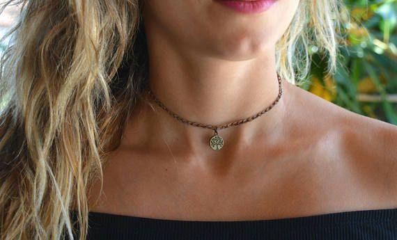 layered choker. layered necklace choker choker necklace