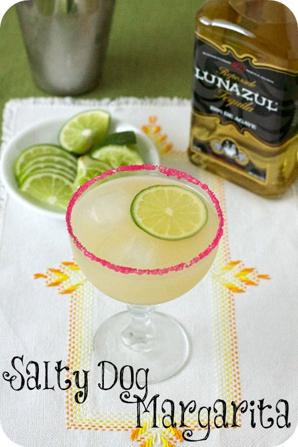 salty dog margarita a perfect weekend treat! #cocktails #recipes #beverages