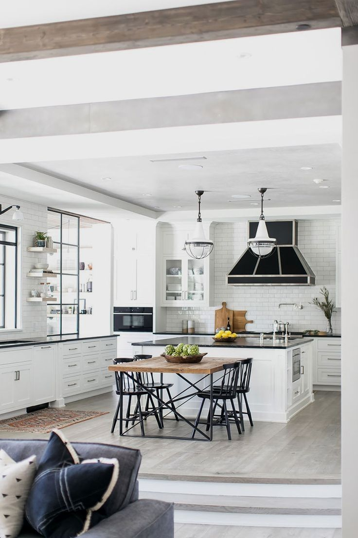 Black And White Scheme And Industrial Elements Can Sometimes Make The Space Feel Rough However I Industrial Home Design Home Design Diy Industrial Livingroom