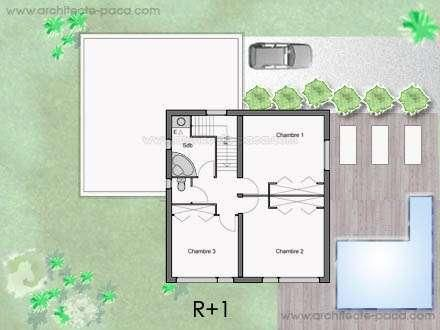 1000 ideas about plan maison ossature bois on pinterest for Extension maison plan