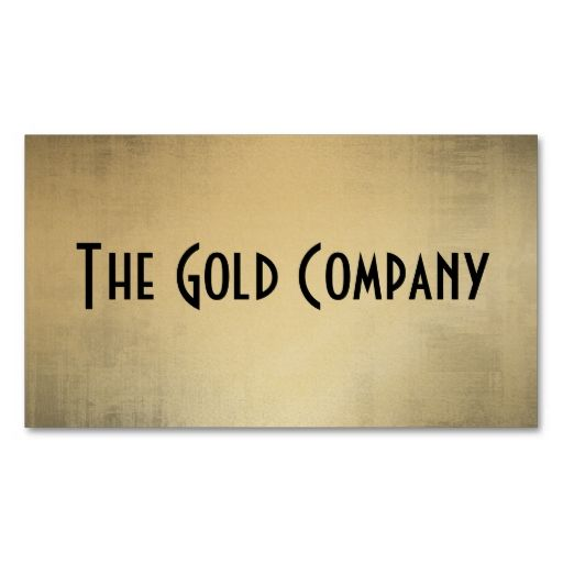 Gold Metal Business Cards. This is a fully customizable business card and available on several paper types for your needs. You can upload your own image or use the image as is. Just click this template to get started!