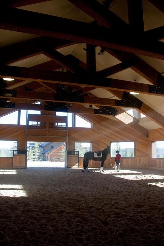Wolf Creek Ranch indoor arena