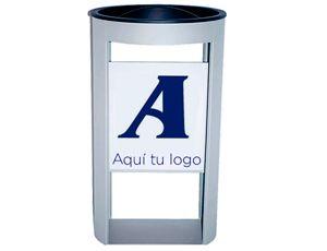 Cenicero de pie metálico personalizable para zonas de fumadores en exteriores: http://www.asturalba.com/mobiliario/muebleauxiliar/ceniceros%20de%20pie/cenicerosdepie.htm