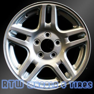 """Ford Explorer wheels for sale 2002-2003. 16"""" Silver rims 3455 - http://www.rtwwheels.com/store/shop/ford-explorer-wheels-for-sale-silver-3455/"""