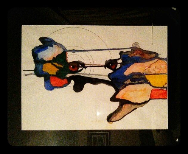 The spy - Iluka visions 2012 watercolor entery.