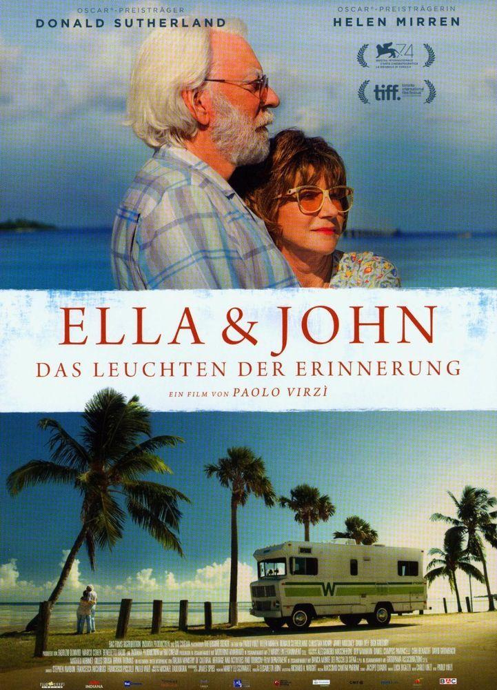 ELLA & JOHN - DAS LEUCHTEN DER ERINNERUNG - 2018 ORIG. FILMPOSTER A4