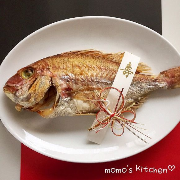 レシピあり!オーブンにお任せ!鯛の塩焼き♡ | 桃 **さんのお料理 ...