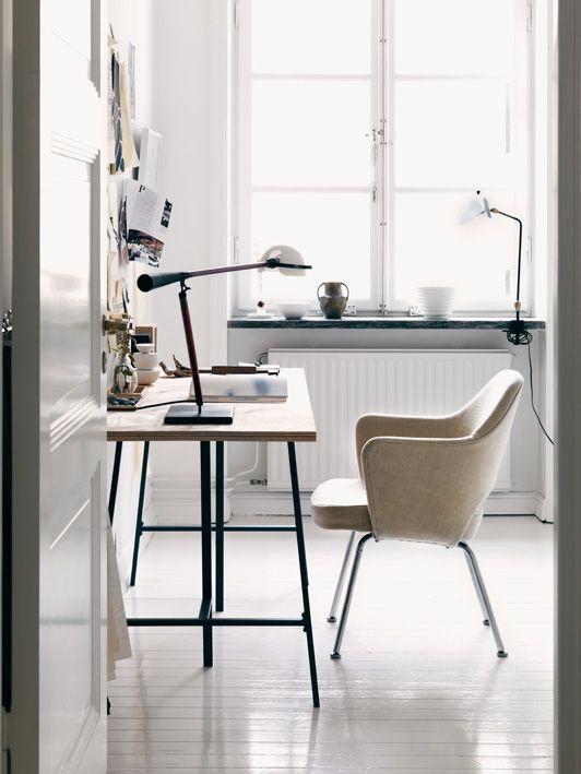 The home of a Swedish Fashion designer