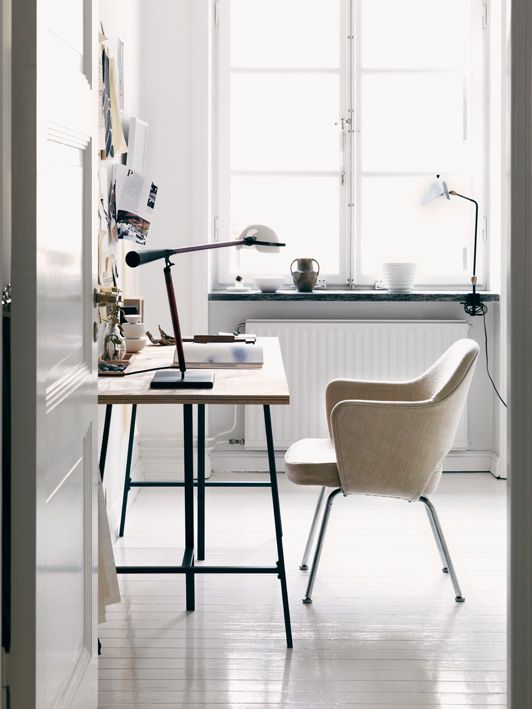 The home of a Swedish Fashion designer