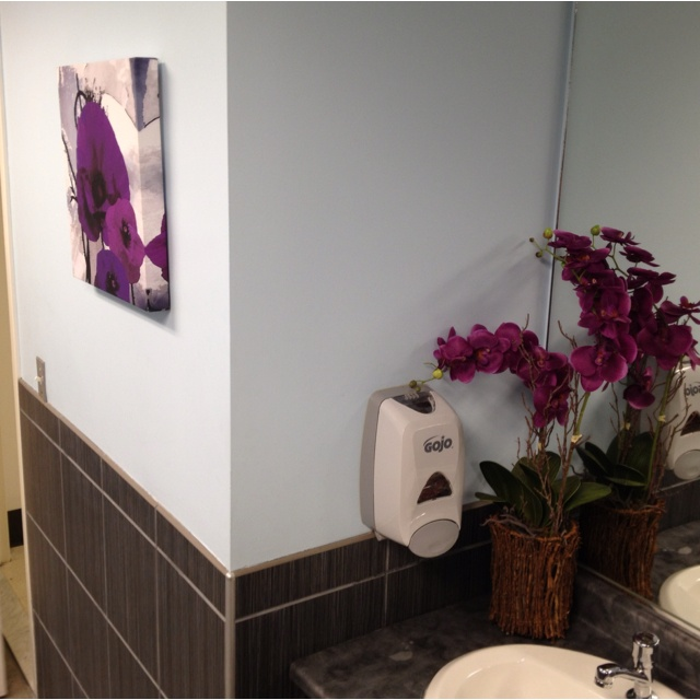 13 best images about church decorating on pinterest for Church bathroom ideas