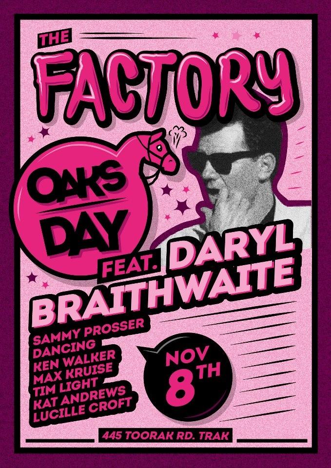 Daryl Braithwaite - OAKS DAY