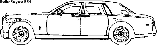 Rolls Royce colouring page | Luxury Chauffeur Driven Cars ...