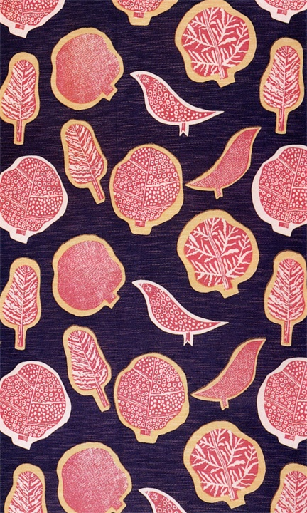 Marianne Mahler Treetops 1939 Printed Cotton And Rayon