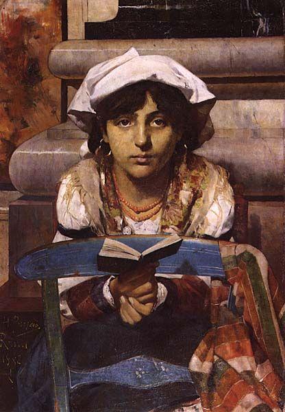 Cecília, 1882. Encontra-se no Museu Nacional Soares dos Reis no Porto