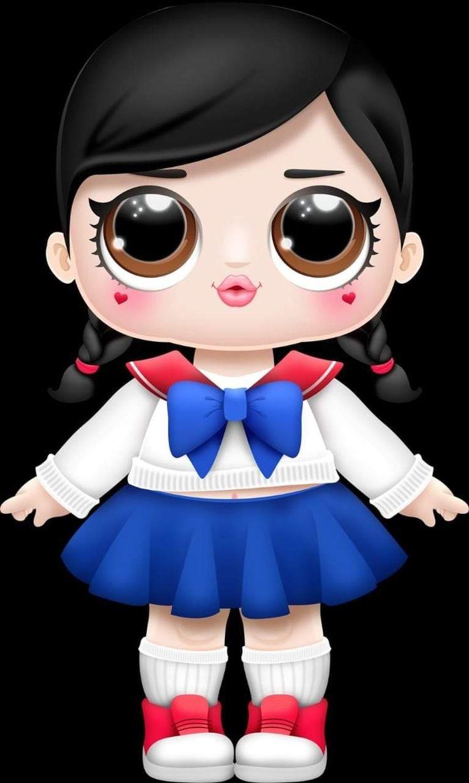 немного смешные картинки куклы лол даманский это