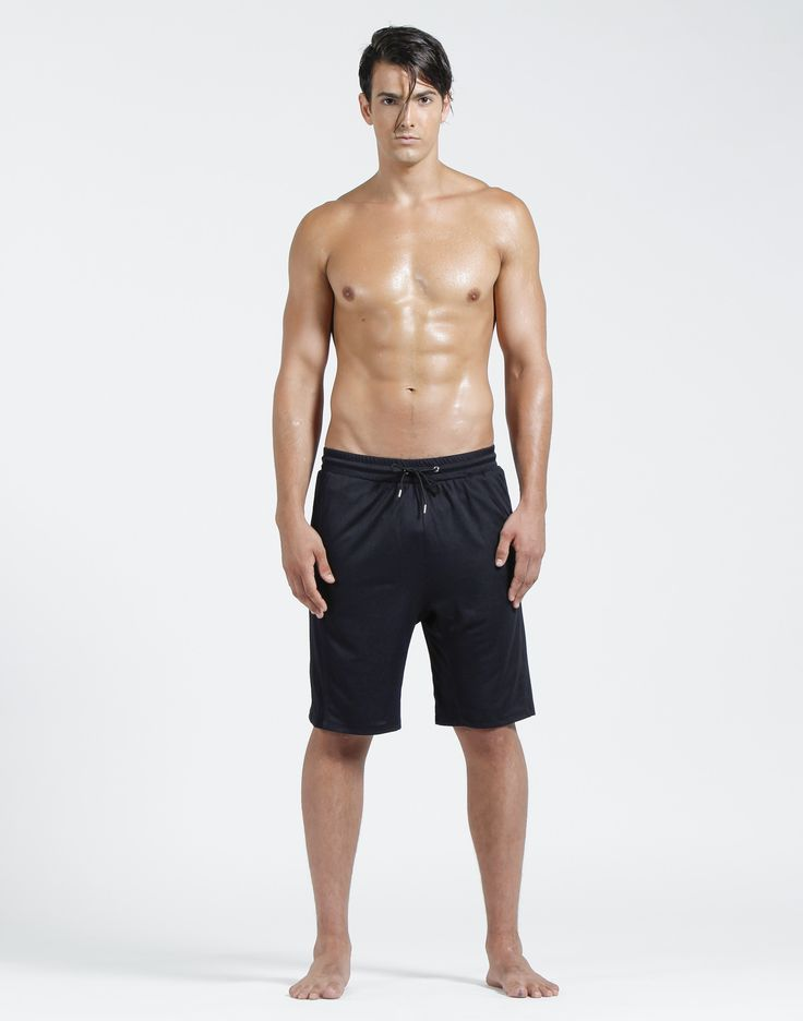 Guy on the go? Slip into these basketball shorts featuring mesh side panels…