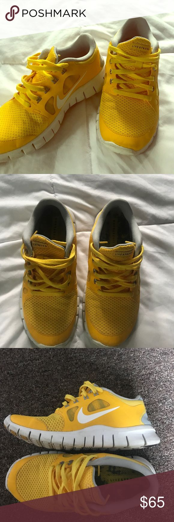 NIKE Livestrong Free run 👟 Great condition, comfortable running shoes! Nike Shoes Sneakers