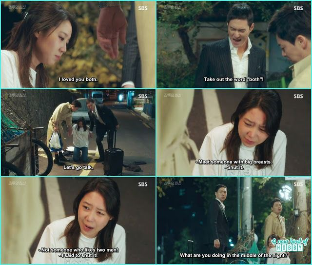 na ri kneeled down and be infront of hwa shin and jung won to leave her alone they both are dumped by the same girl - Jealousy Incarnate - Episode 15 (Eng ...