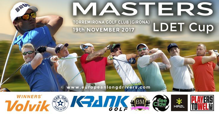 Watch Krank Golf dominate at MASTERS LDET CUP with Top-8 players on the European ranking. The tournament will be next 19th November at Torremirona Golf Resort (Spain).  For more information visit http://www.europeanlongdrivers.com/  Krank Golf home of the world's fastest, farthest hitting driver with 20 world long drive world championships. Visit Krank Golf at: https://krankgolf.com