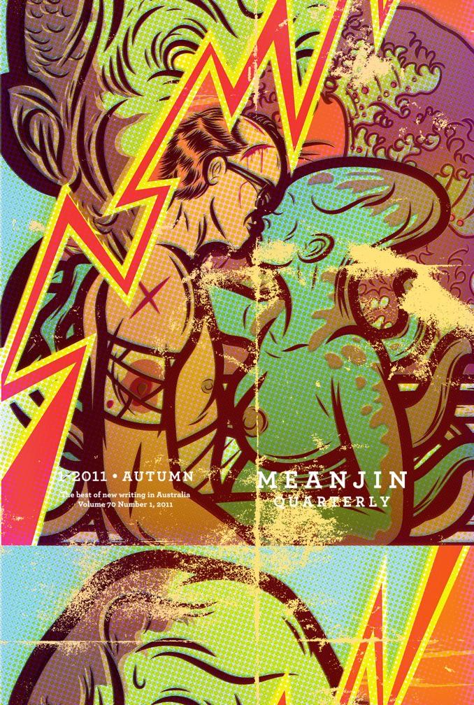 Cover Illustration for Meanjin Vol. 70 Nº1.  Melbourne University Press.  Australia. Autumn 2011.