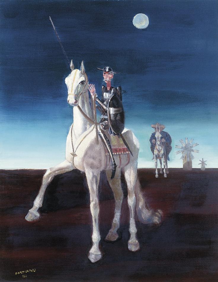 Dom Quixote (1961) - óleo em tela - Cândido Portinari.