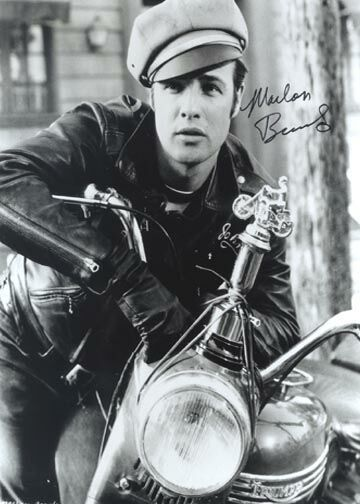 """Marlon Brando (1924 - 2004)Acting legend, appeared in numerous movies, including """"The Wild One"""", """"On the Waterfront"""", """"Last Tango in Paris"""", """"The Godfather"""", and """"Apocalypse Now"""""""