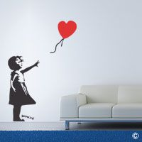 Heart Balloon girl (WBANK1)