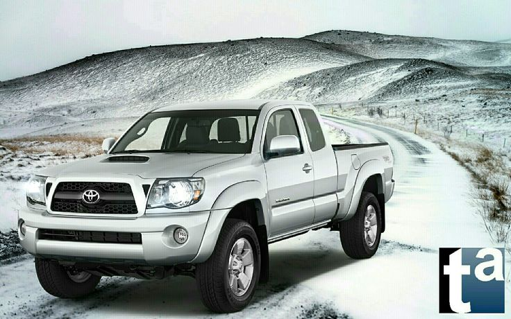 052 - WINTER WONDERLAND [Auto] #Toyota Tacoma #PickUp CAB PreRunner 2011 #Automotive #Trucks