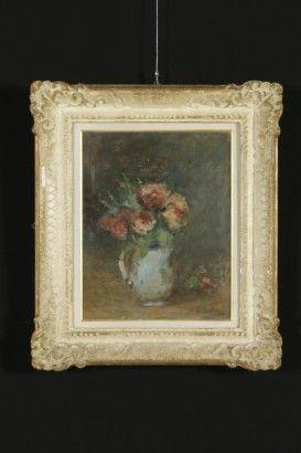 Ezio Pastorio (1911-2006),Vaso di fiori