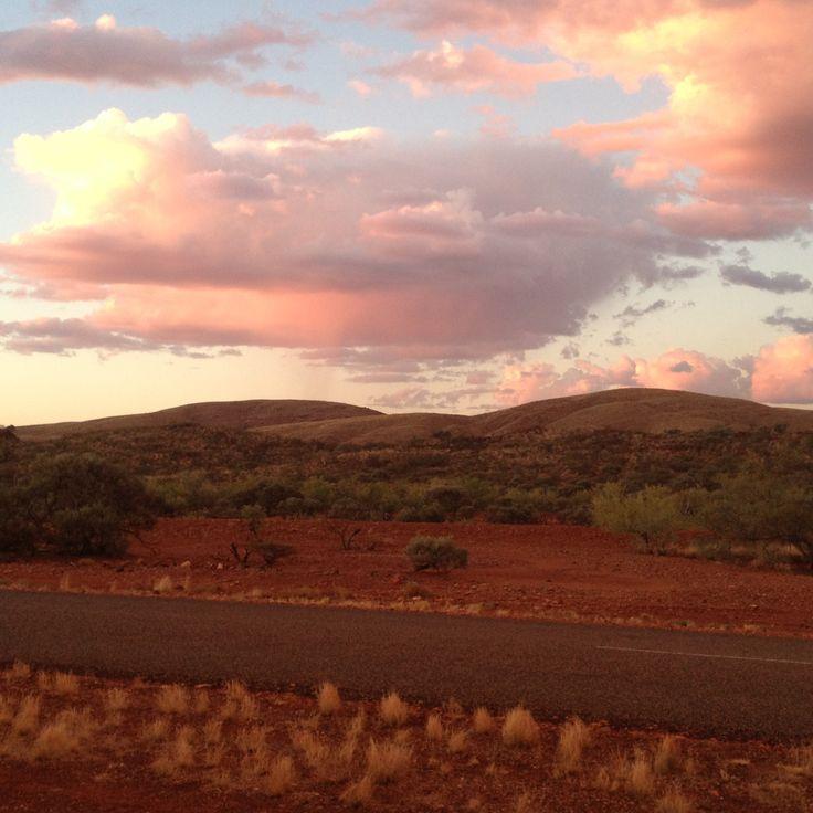 The outback on the way to Karijini, Western Australia