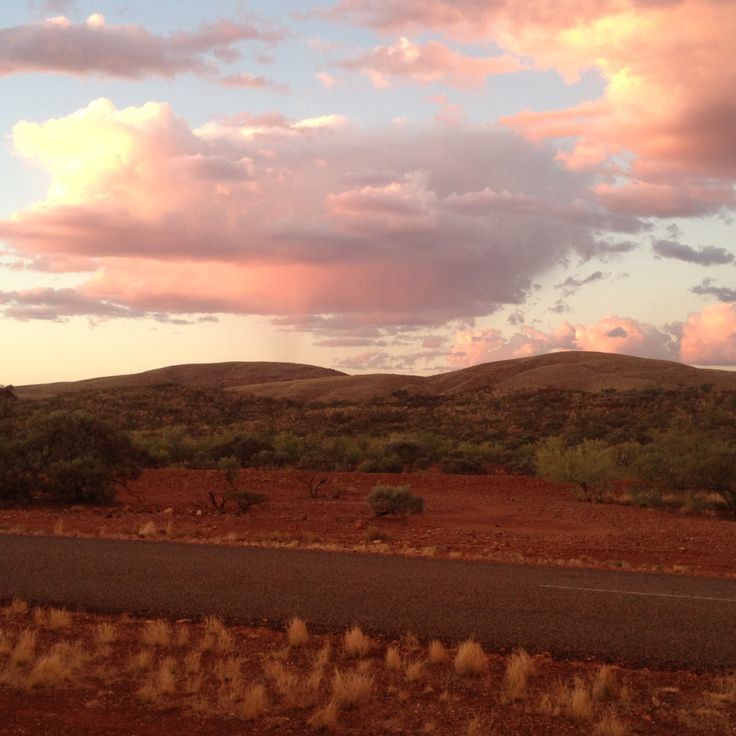 The outback on the way to Karijini, Western Australia