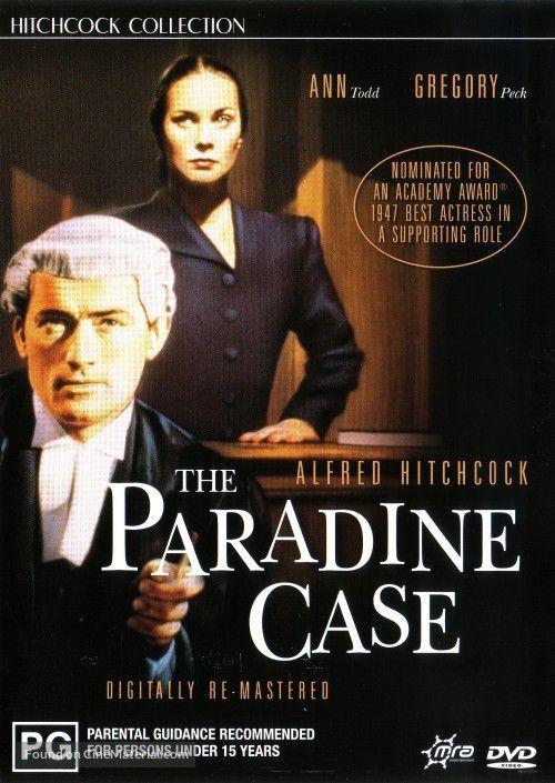 "The+Paradine+Case+Australian+dvd+cover ""Akt oskarżenia"" (1947) = ""The Paradine Case"" (1947)"