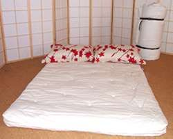 oriental roll up futon mattress