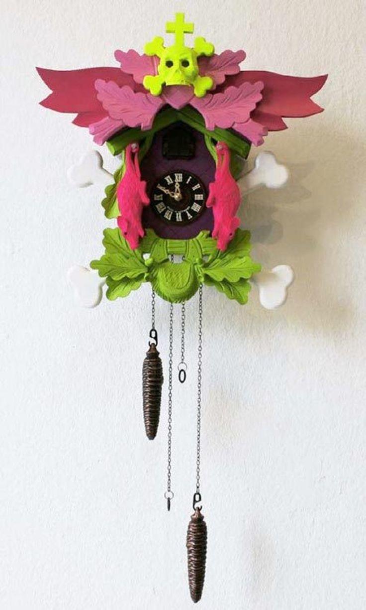 Contemporary Cuckoo Clocks by Stefan Strumbel — Dezeen