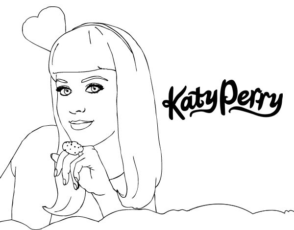 Image result for coloring in pages katy perry