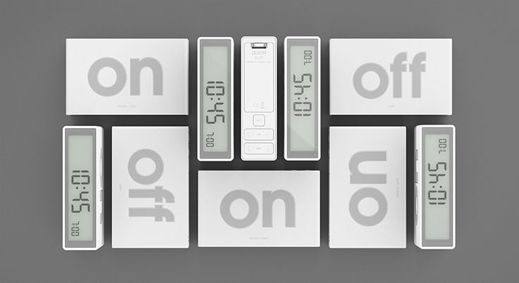adrian + jeremy wright create fun flip alarm clock for lexon - designboom | architecture & design magazine