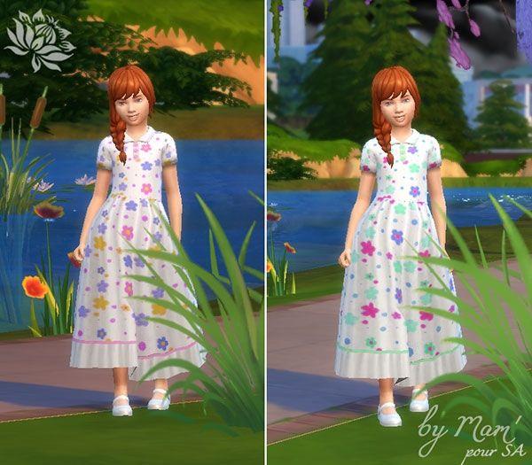 Robe Floralie 1