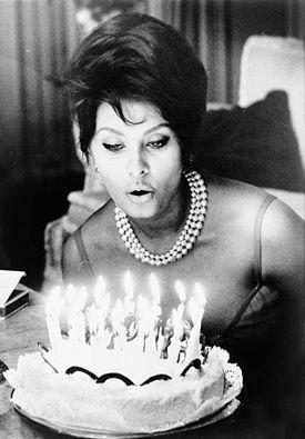 Sophia Loren turns 80 today!!! Happy birthday Sophia!!! 9/20