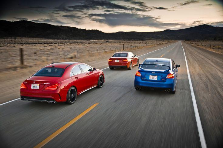 '14 Merc Benz cla45 amg, '15 Subaru Impreza wrx sti, '14 Bmw M235i