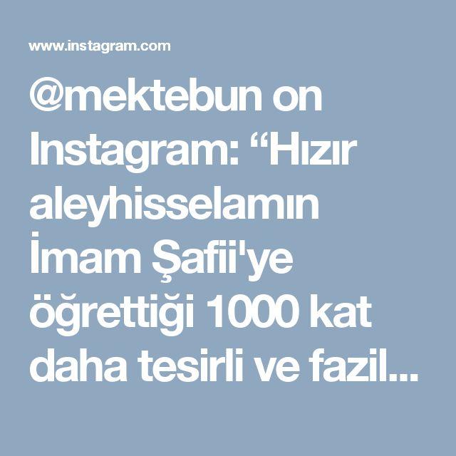 """@mektebun on Instagram: """"Hızır aleyhisselamın İmam Şafii'ye öğrettiği 1000 kat daha tesirli ve faziletli HACET NAMAZI #allah #bismillah #kuran #islam #iman…"""" • Instagram"""