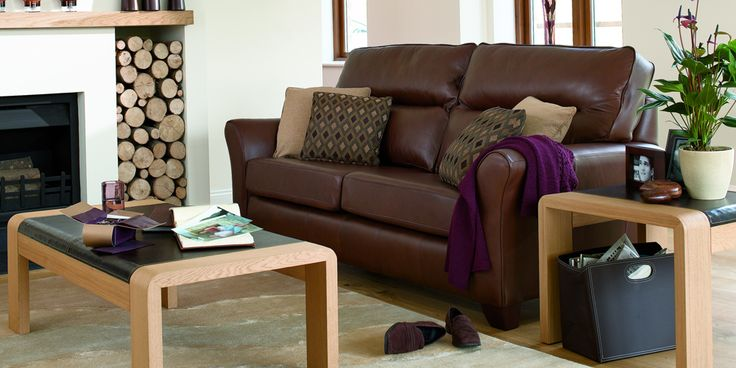 3 seater Capri Oak by G Plan. Available from Rodgers of York #Sofa #Home