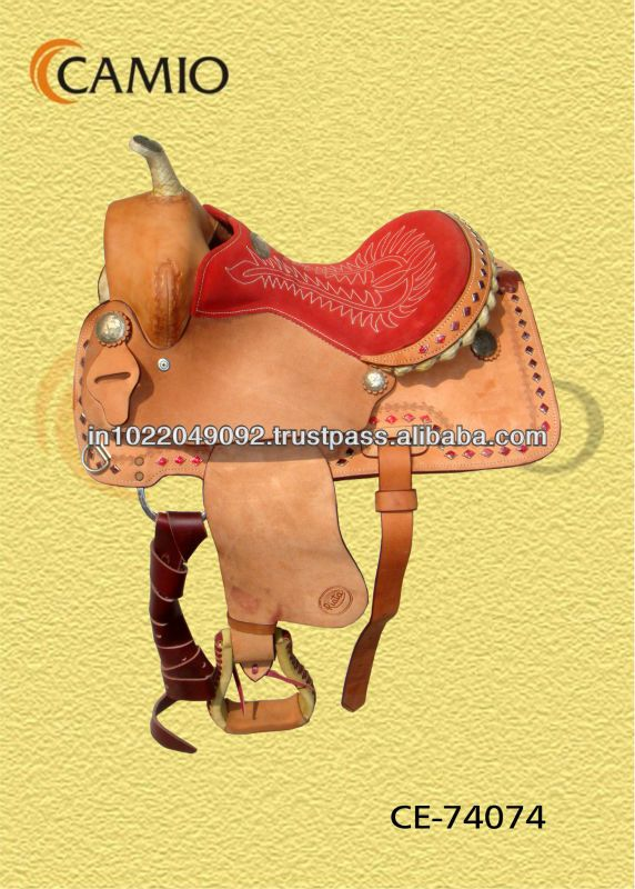 #hand made western saddles, #hand carved western horse saddle, #embossing leather western saddle