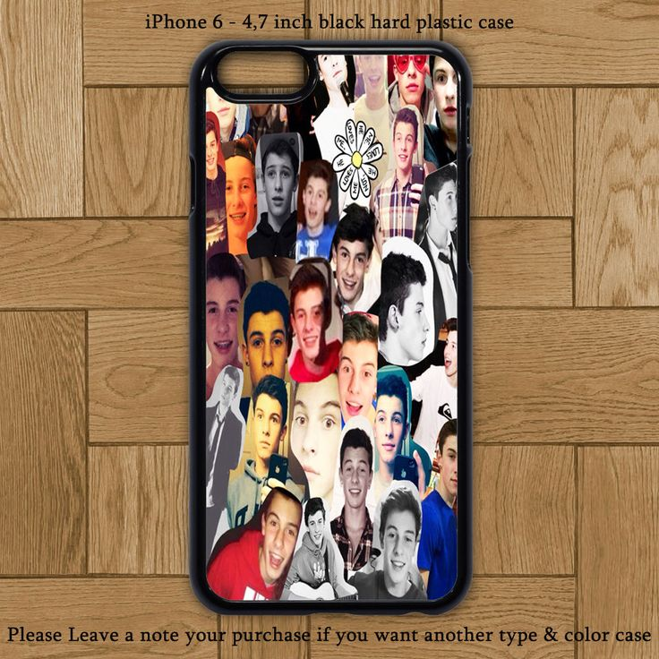Shawn Mendes Collage Cover iPhone 6 Case Hard Plastic Cases