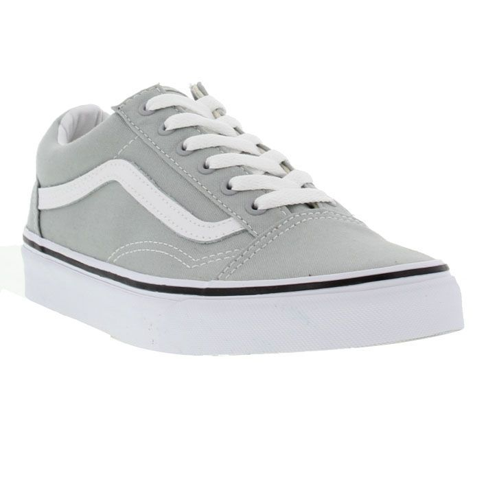 old skool vans women grey