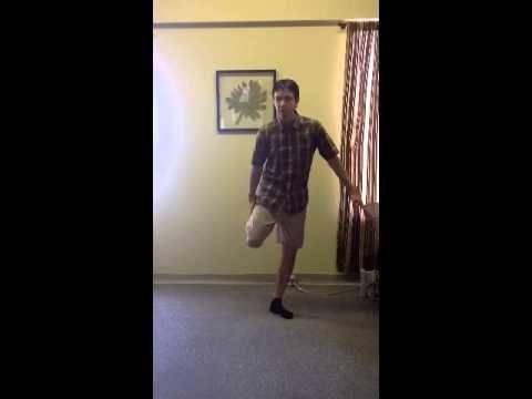 Étirement genou syndrome fémoral-patellaire - YouTube