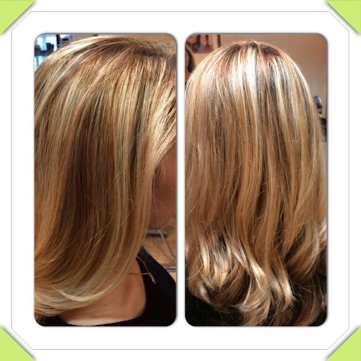 Highlight and low light hair color | My hair works | Pinterest