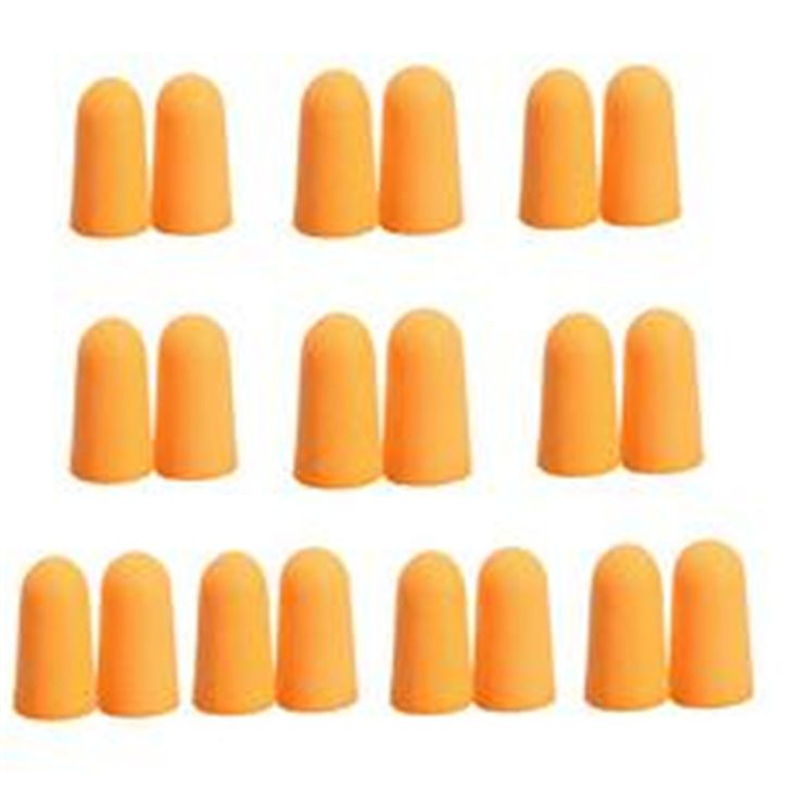 10 Pairs Soft Foam Ear Plugs Tapered Travel Sleep Noise Prevention Earplugs Improve Sleep Hearing Protection Free Shipping