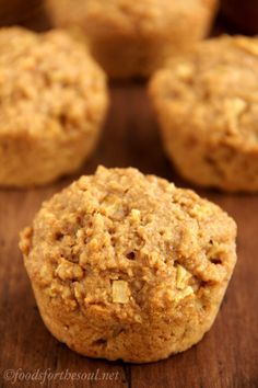 Apple Bran Muffins - the best bran muffin recipe I've come across yet - I used regular yogurt rather than Greek style, and it turned out fine