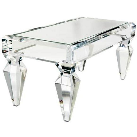 The Clair Coffee Table designed by Craig VanDenBrulle. OMG! OMG! trying to contain myself. . . LOL