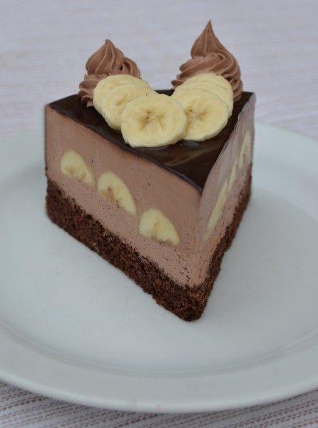 Kubánský * banánový dort